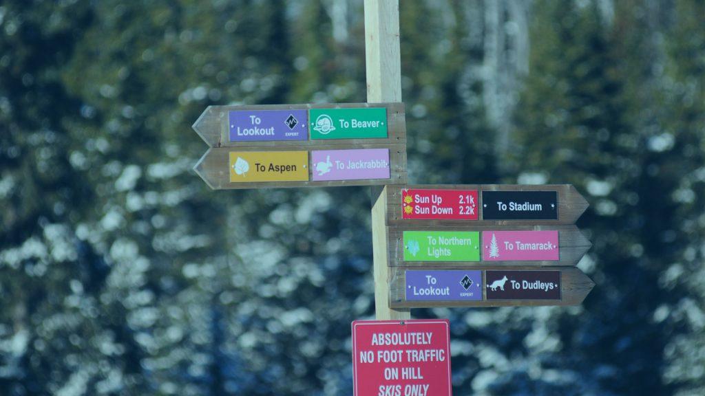 Kamview ski trails