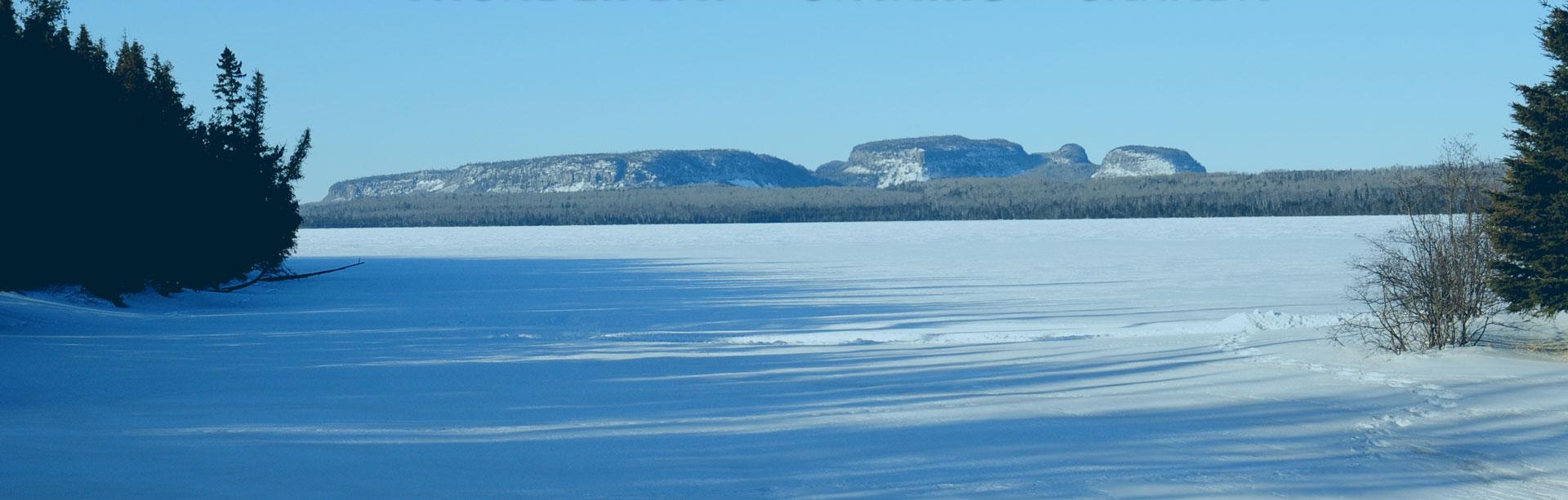 Sleeping giant provincial park nordic ski trails