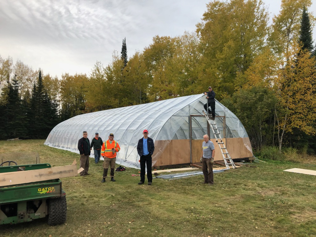 new greenhouse structure